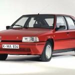 Документы Citroen BX 19  1989 (Синий)
