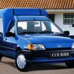 Документы Ford Courier 1992 (Красный)