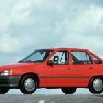 Документы Opel Kadett 1987 (Зеленый)