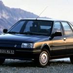 Документы Renault 21 1986 (Серый)