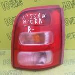 Фонарь Nissan Micra K11 (Правый)